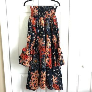 Dresses & Skirts - African Fabric Off the Shoulder Dress